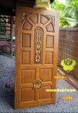 ประตูไม้สัก บานเดี่ยว 03