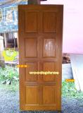 ประตูไม้สัก บานเดี่ยว 10