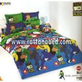 ผ้าปูที่นอน BEN 10 BU 01