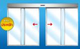 ประตูบานเลื่อนคู่อัตโนมัติ (Bi-Parting Door)