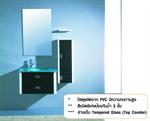 NVB-CF340 (ชุดตู้เฟอร์นิเจอร์+กระจก+ตู้เก็บของด้านข้าง)