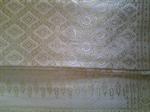 ผ้าไหมยกอินเดียสีพื้นขาว