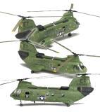 โมเดลเฮลิคอปเตอร์ CH-46A/D U.S.MARINES