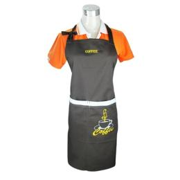 ผ้ากันเปื้อนสำหรับร้านกาแฟ 002671