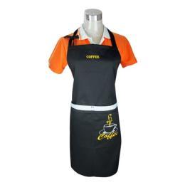 ผ้ากันเปื้อนสำหรับร้านกาแฟ 002670