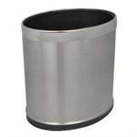 ถังขยะ รูปทรงวงรี สแตนเลส 1402-058 (003270)
