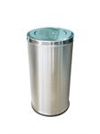 ถังขยะสแตนเลส แบบมีฝา 1402-063  (002617)