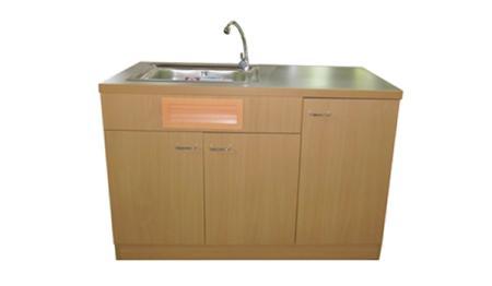 โต๊ะสาธิตพร้อมอ่างน้ำและก๊อกน้ำ B6