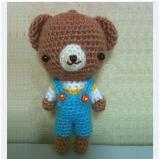 ตุ๊กตาถักหมีเอี๊ยม