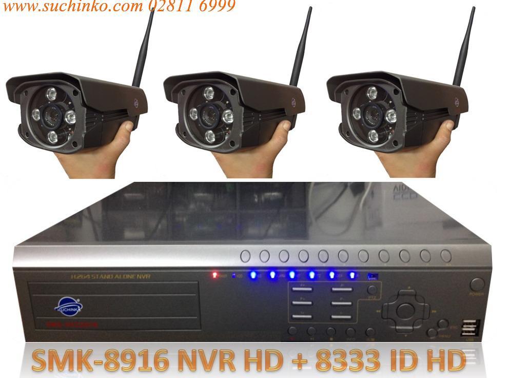 เครื่องบันทึก NVR SMK-8916 HD