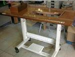 โต๊ะจักรอุตสาหกรรมหน้าลายไม้พิเศษแบบส่งออก
