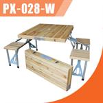 โต๊ะปิกนิกพับเก็บได้ KOMMET รุ่น PX-028-W