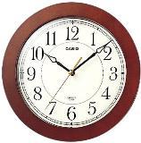 นาฬิกาแขวนผนัง CASIO รุ่น IQ-126 ลายไม้
