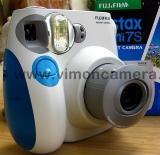 กล้องโพลาลอย Fuji instax mini 7s สีฟ้า-camera