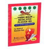 แผ่นบรรเทาปวด Tiger Balm Plaster Warm Medium Size