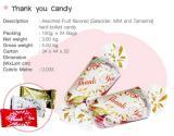 ลูกอม Thank you candy แพ็ค 3 รส
