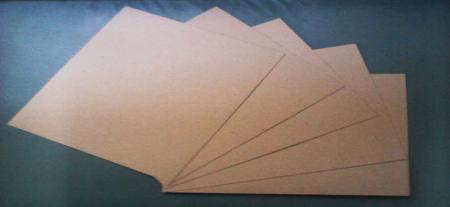 กระดาษฉาก กระดาษแข็งผิว(เคไอ),ผิวสีน้ำตาล