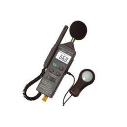 เครื่องวัดระดับเสียง, แสง, ความชื้น และอุณหภูมิ