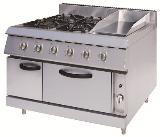 อุปกรณ์ทำอาหารพร้อมเตาอบแก๊ส รุ่น ET-FGS-94GGO