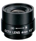 เลนส์กล้องวงจรปิด FIXED LENSES  4  mm.