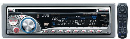 เครื่องเสียงรถยนต์ JVC  KD-DV4405