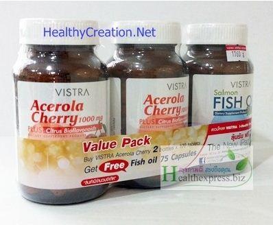อาหารเสริม Vistra Acerola 100 เม็ด