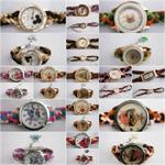 นาฬิกา FASHION HANDMADE นาฬิกาแฟชั่นแฮนด์เมด นาฬิกาสายถัก นาฬิกาถักสาย
