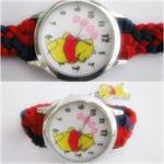 นาฬิกาแฮนด์เมดสายถัก นาฬิกาข้อมือแฟชั่น นาฬิกาผู้หญิง
