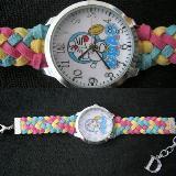 นาฬิกาการ์ตูนน่ารัก ๆ แฟชั่นนาฬิกาสายถัก