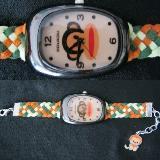 ขายส่งนาฬิกาแฟชั่นแฮนด์เมด นาฬิกาแฟชั่นถักสาย นาฬิกาแฟชั่นสายถัก