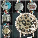 นาฬิกาสายถัก นาฬิกาสายผ้า นาฬิกาแฮนด์เมด สายถัก งา
