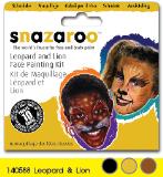 สะนาซารูชุด PAINT KIT #LEOPARD&LION