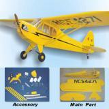 เครื่องบินเล็กบังคับวิทยุ รุ่น  PIPER J-3 CUB-80