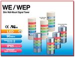 ระบบไฟสัญญาณแบบครึ่งวงกลมสำหรับติดผนัง WE / WEP