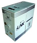 สายแลนคอมพิวเตอร์ ยี่ห้อ link รุ่น Cat5e CMR