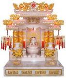 ศาลเจ้าที่จีน 24 นิ้วรุ่นมาตราฐาน แบบทอง