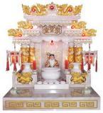 ศาลเจ้าที่จีน 27 นิ้วรุ่นมาตราฐาน แบบทอง