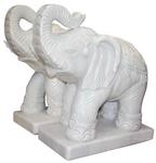 ช้างแกะสลัก หินอ่อน หินแกรนิต