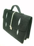 กระเป๋าหนังปลากระเบน รุ่น OKHB-HB03-FBA01