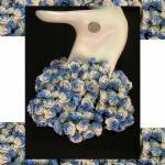 ดอกไม้กระดาษ สีน้ำเงิน R 3 - 424