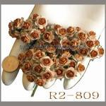 ดอกไม้กระดาษ สีน้ำตาล R 2 - 809
