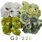 ดอกไม้กระดาษ สีเขียว G 3 - 839