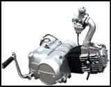 เครื่องยนต์มอเตอร์ไซด์ 1P52FMI-B 125cc