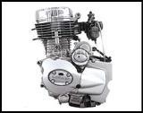 เครื่องยนต์มอเตอร์ไซด์ 163FML(CB2000) 200cc
