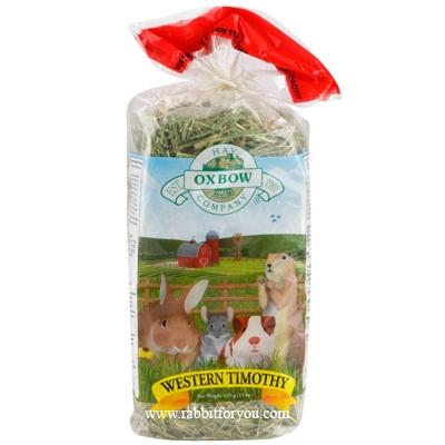 หญ้าแห้งกระต่าย Western Timothy Hay จาก OXBOW