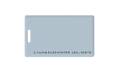 บัตรคีย์การ์ด EM4100-18R