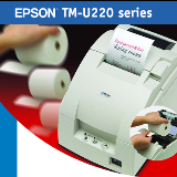 เครื่องพิมพ์ใบเสร็จ TM-U220-B Ethernet