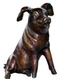 รูปปั้นหมู  Animal / SBA1-027
