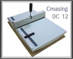เครื่องพับรอยกระดาษ DC 12