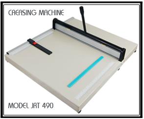 เครื่องพับรอยกระดาษ JRT 490